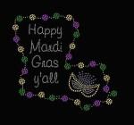Happy Mardi Gras Y'all Louisiana Shirt