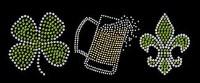 Clover, Beer, Fleur de Lis