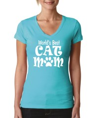 World's Best Cat Mom Shirt