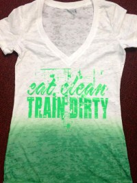 Eat Clean Two Tone Burnout