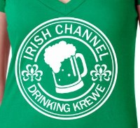 Irish Channel Krewe Print Shirt