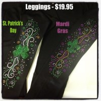 Rhinestone Leggings