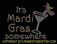 Mardi Gras Somewhere Shirt