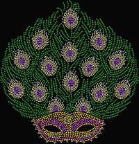 Peacock Mask Shirt